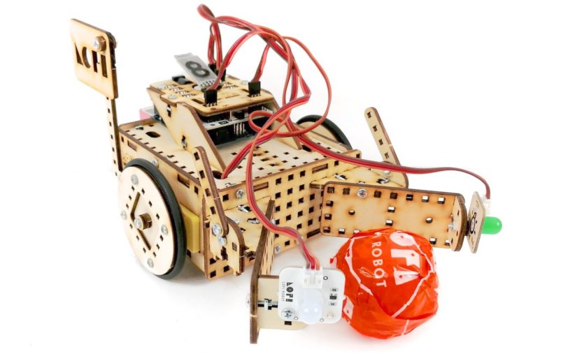 Football Playing Robot – Assembly Instructions