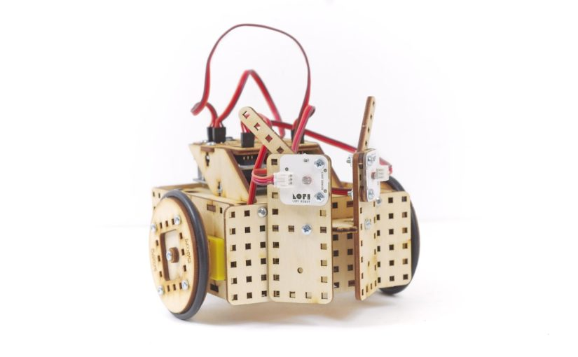 Light Following Robot – Assembly Instructions